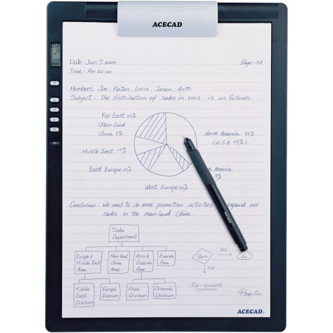 Solidtek Acecad DigiMemo Digital Notepad DM-L2