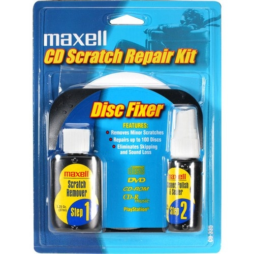 Maxell CD/CD-ROM Scratch Repair Kit 190041