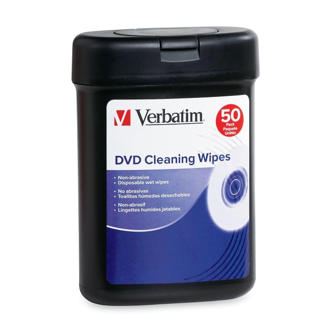 Verbatim DVD Cleaning Wipes 95448