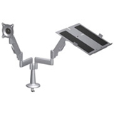 Chief Laptop Dual Swing Arm Desk Mount KGL220B