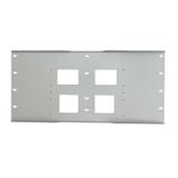 """Peerless-AV 24"""" Triple Metal Stud Wall Plate WSP724-GB"""