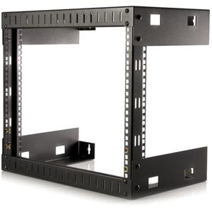 StarTech.com 8U Open Frame Wall Mount Equipment Rack RK812WALLO