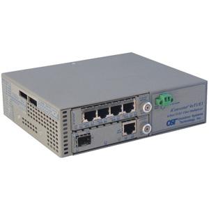 Omnitron iConverter 4-Port T1/E1 Multiplexer 8822-5-C