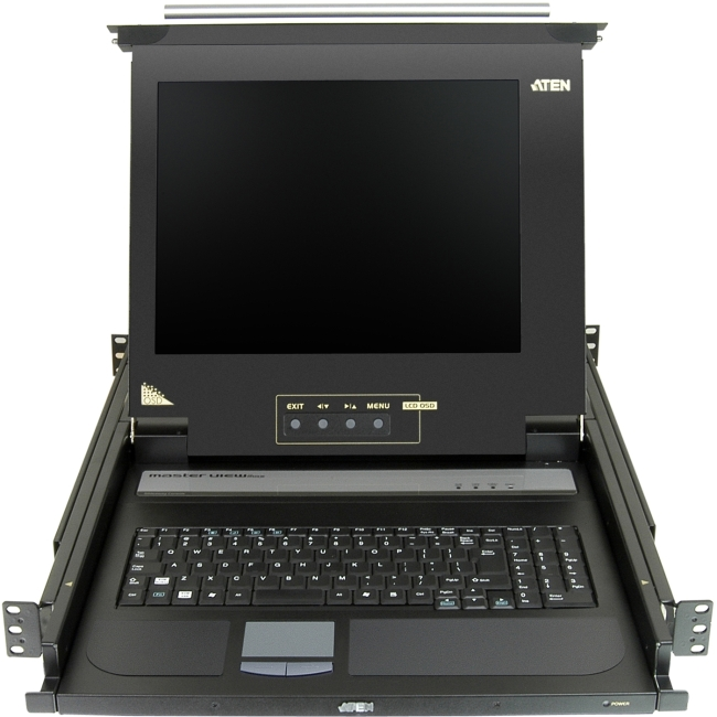 """Aten 17"""" Single-Rail LCD Integrated Console CL1000M"""