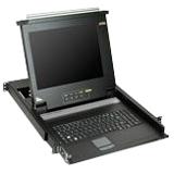 """Aten 17"""" 8-port LCD KVM for SMB CL1008M"""