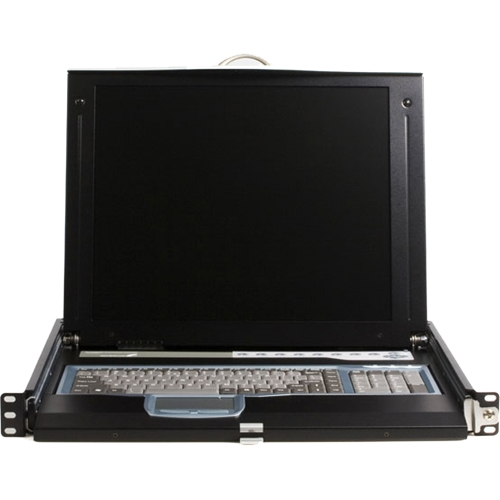 "StarTech.com 1U 17"" Rack Mount LCD Console with 16 Port IP KVM CABCONS1716I"