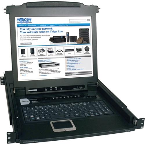 Tripp Lite NetDirector Rackmount LCD with KVM B020-008-17