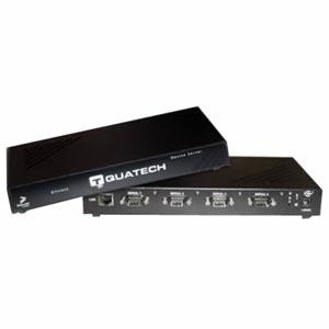 QUATECH 4 Port RS-232 Serial Device Server (RJ45) with Surge Suppression QSE-100M-SS