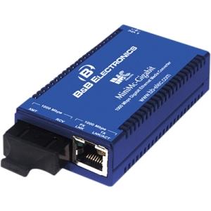 IMC MiniMc Gigabit Ethernet Media Converter 854-10720