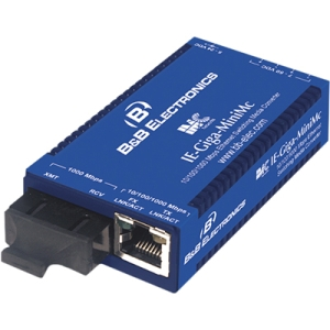 IMC Giga-MiniMc Twisted Pair to Fiber Media Converter 856-10732