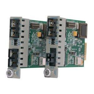 Omnitron iConverter Managed Ethernet Media Converter 8562-00 GX/F