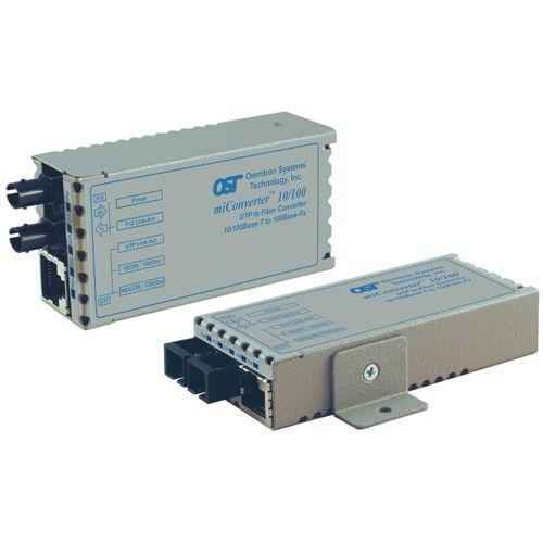 Omnitron miConverter 10/100 SC Single-Mode 30km USB Powered 1103-1-6 1103-1-x