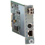 Omnitron iConverter Twisted pair To Fiber Media Converter 8910-1 10/100M