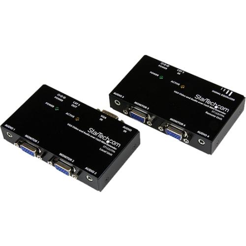 StarTech.com VGA Video Extender over Cat 5 with Audio ST122UTPA