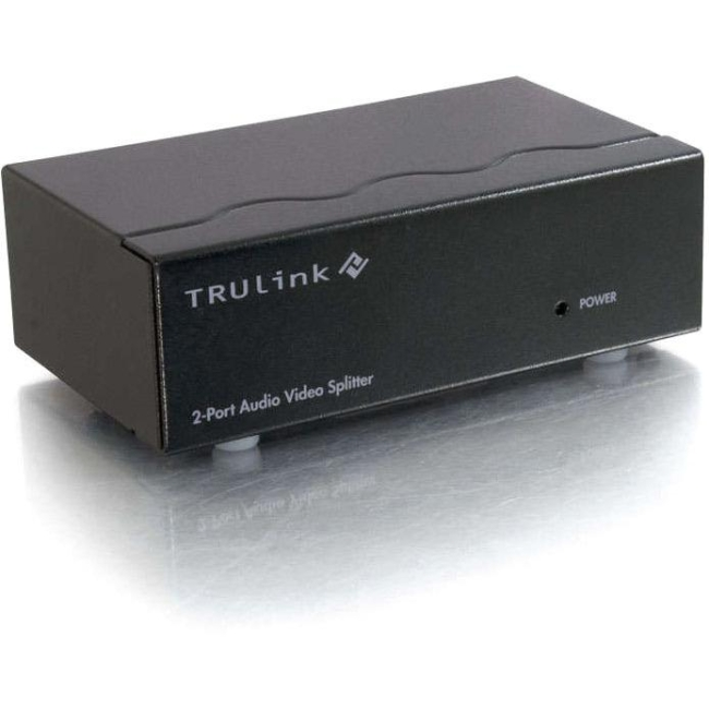 C2G Port Authority2 Audio Video Splitter 39967