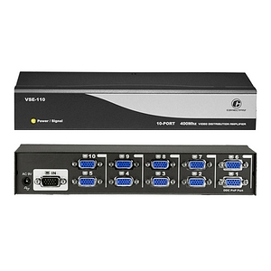 Connectpro 10-port 400MHz Video Splitter VSE-110