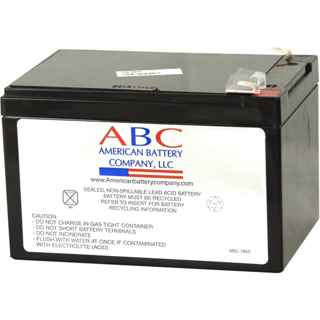 ABC Replacement Battery Cartridge RBC4