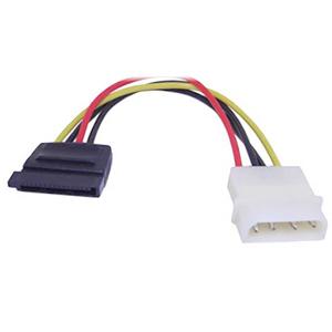 Link Depot 4-Pin PC Power to SATA Adapter Cable POW-SATA