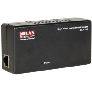 Transition Networks MiLAN EmPowered Ethernet Power over Ethernet Injector MIL-L100I-NA MIL-L100i
