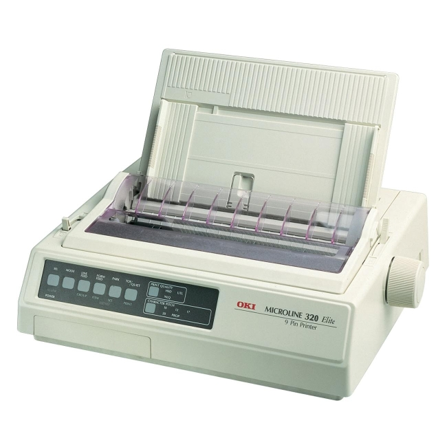 Oki MICROLINE Dot Matrix Printer 62413001 321 Turbo/D