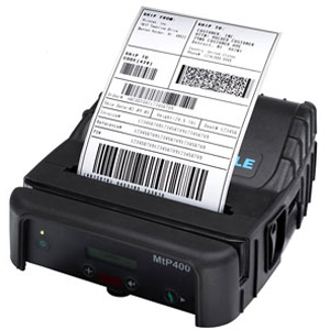 Printek Network Thermal Mobile Printer 91813 MtP400