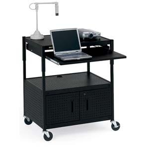 Bretford Mobile Projector Cart ECILS3-BK
