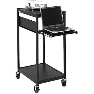 Bretford Mobile Projector Cart ECILS2M-BK