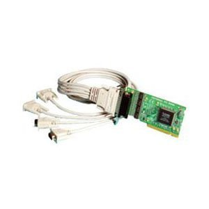 Brainboxes 4 Port RS-232 Universal low-profile Multiport Serial Adapter UC-260-001