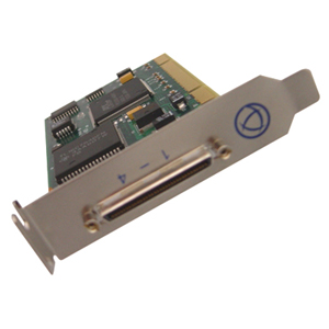 Perle UltraPort - 4 Port Multiport Serial Card 04002040