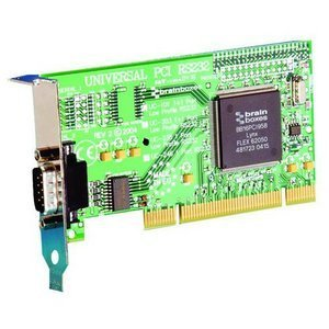 Brainboxes 1 Port Low-Profile Serial Adapter UC-235-001