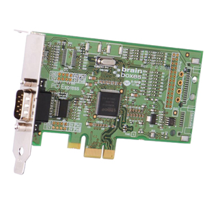 Brainboxes 1-Port PCI Express Serial Adapter PX-235-001 PX-235