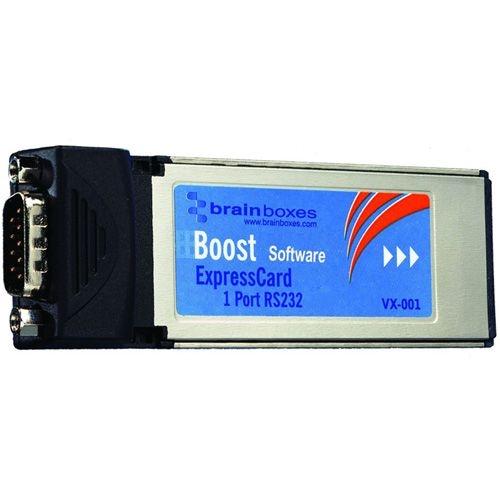 Brainboxes 1 Port RS-232 Serial Express Card VX-001-X100 VX-001