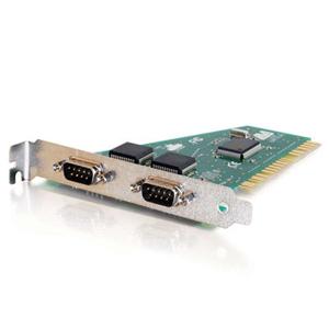 C2G Lava 2 Port DB9 Serial Adapter 16639