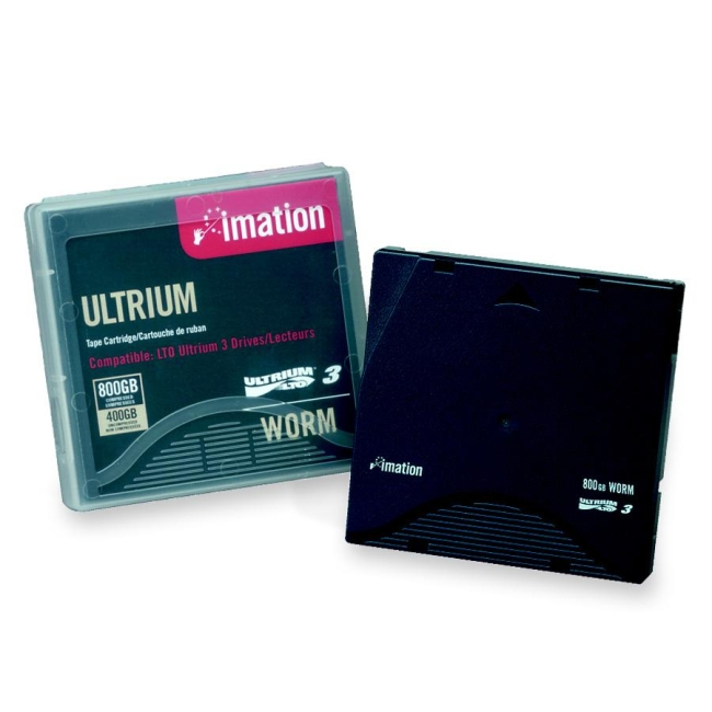 Imation LTO Ultrium 3 Labeled Without Case Tape Cartridge 17533