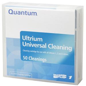 Quantum LTO Ultrium Universal Prelabeled Cleaning Cartridge MR-LUCQN-BC