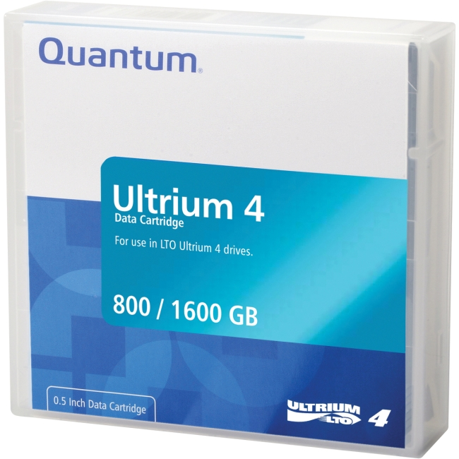 Quantum LTO Ultrium 4 Tape Cartridge MR-L4MQN-20