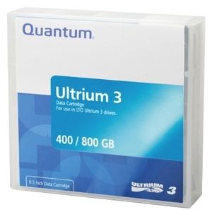 Quantum LTO Ultrium 3 Prelabeled Tape Cartridge MR-L3MQN-BC