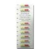 Quantum Data Cartridge Bar Code Label 3-04307-03