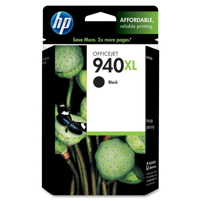 HP High Yield Black Original Ink Cartridge C4906AN#140 940XL
