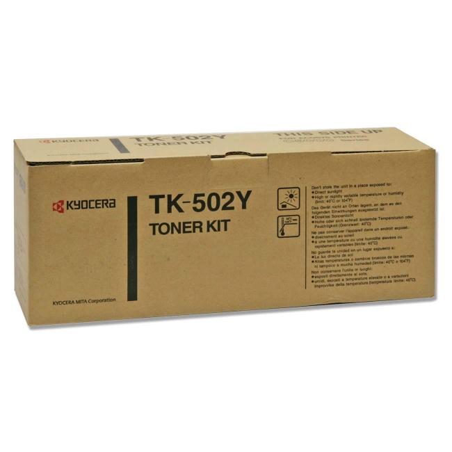 Kyocera Yellow Toner Cartridge TK-502Y