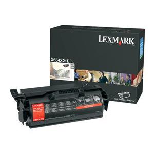 Lexmark Extra High Yield Black Toner Cartridge X654X21A