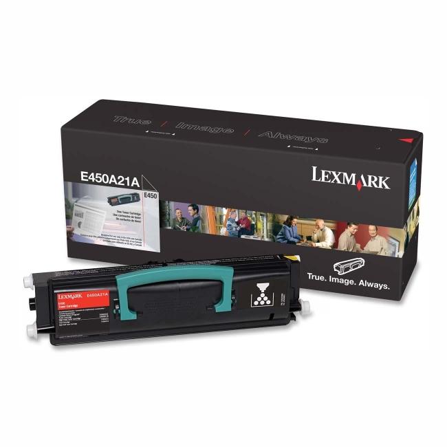 Lexmark Black Toner Cartridge E450A21A