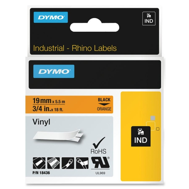 Dymo RhinoPRO Industrial Vinyl Tape 18436