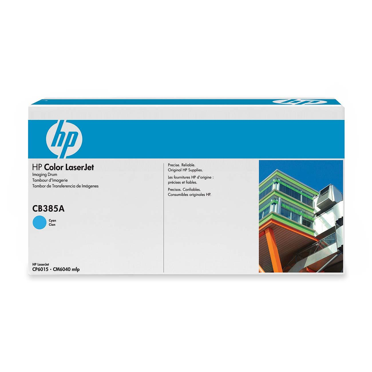 Hp Cyan Image Drum For Cp6015 And Cm6040mfp Printers Cb385a Hewcb385a Color Laserjet Cp4005 Cartridge Cb401a