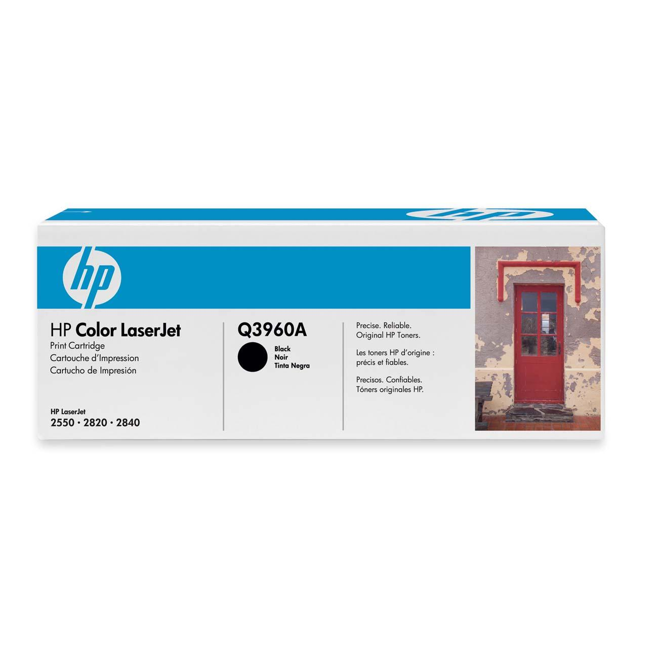 Hp Black Toner Cartridge Q3960a Hewq3960a 43x High Yield Original Laserjet C8543x