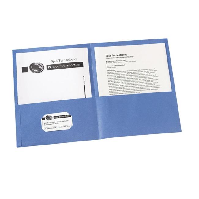 avery two pocket folder 47986 ave47986