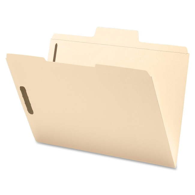 Smead SuperTab Fastener Folder 19535 SMD19535 86486