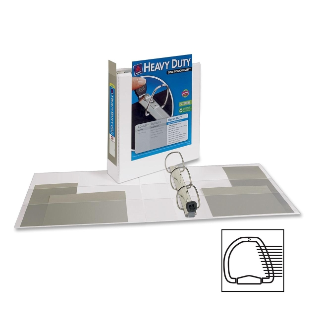 Avery Heavy-Duty Reference View Binder 79192 AVE79192