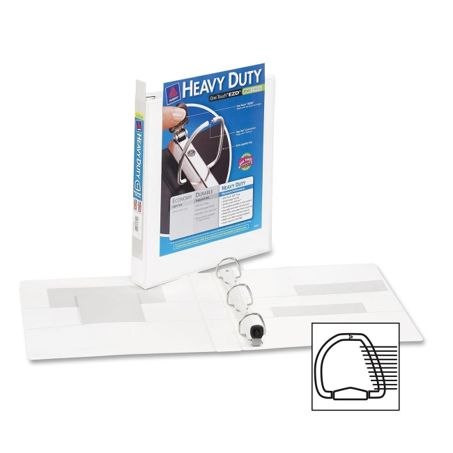 Avery Heavy-Duty Reference View Binder 79199 AVE79199