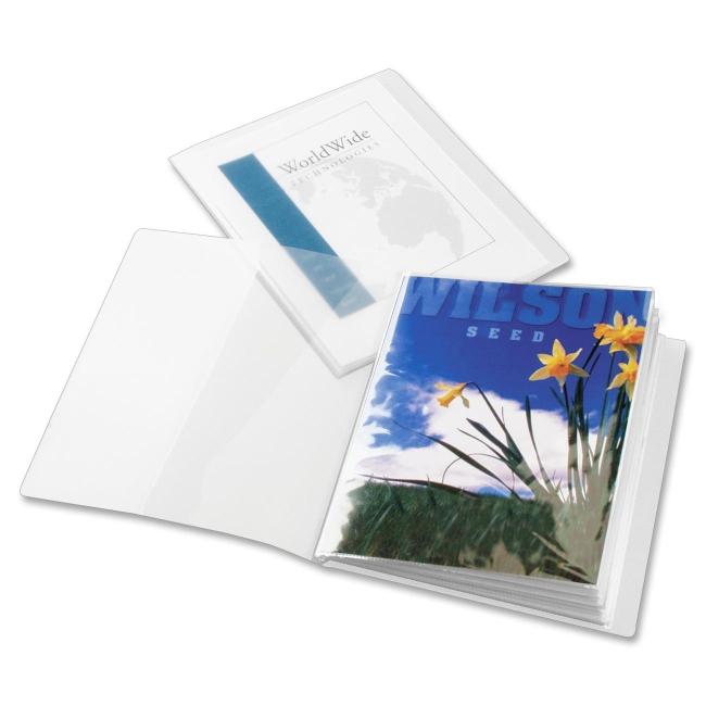 Globe-Weis ClearThru ShowFile Custom Display Book 51532 CRD51532